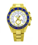 Rolex Yacht Master II 18k Yellow Gold Wrist Watch for Men 116688 - $31,185.00