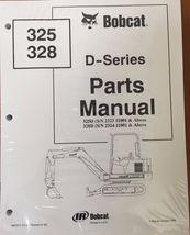 Bobcat 325 328 D Series Parts Catalog Manual - Part Number # 6901217 - $48.76+