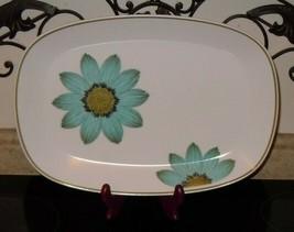 "Noritake China UP-SA Daisy 15""x11"" Oval Serving Platter Japan Vintage 9001  - $59.39"