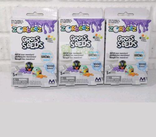 Zorbeez Gross Seeds 1000 Zorbeez in 4 Colors