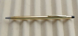 CROSS (4502) 10 KT GOLD BALL PEN MADE IN USA - $42.57