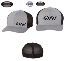 GOD IS GREAT RELIGION CHRISTIAN Trucker Cap FLEXFIT HAT *FREE SHIPPING i... - $19.99