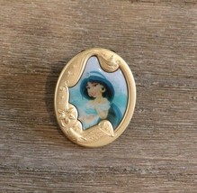 Disney Jasmine Gold Frame Princess Cameo Series Park Pack Mystery Pin  - $7.87