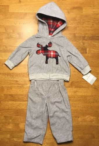 a2cda368a NWT Carter's Boy's Gray 2 Piece Outfit - and 50 similar items
