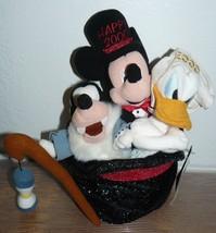 Disney Store Mickey & Friends Happy New 2000 Bean Bag Plush Set - $14.85