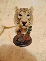 Animal Head Reflections Collection Southwestern Tiger Lion-Tree Trunk Le... - $1.99