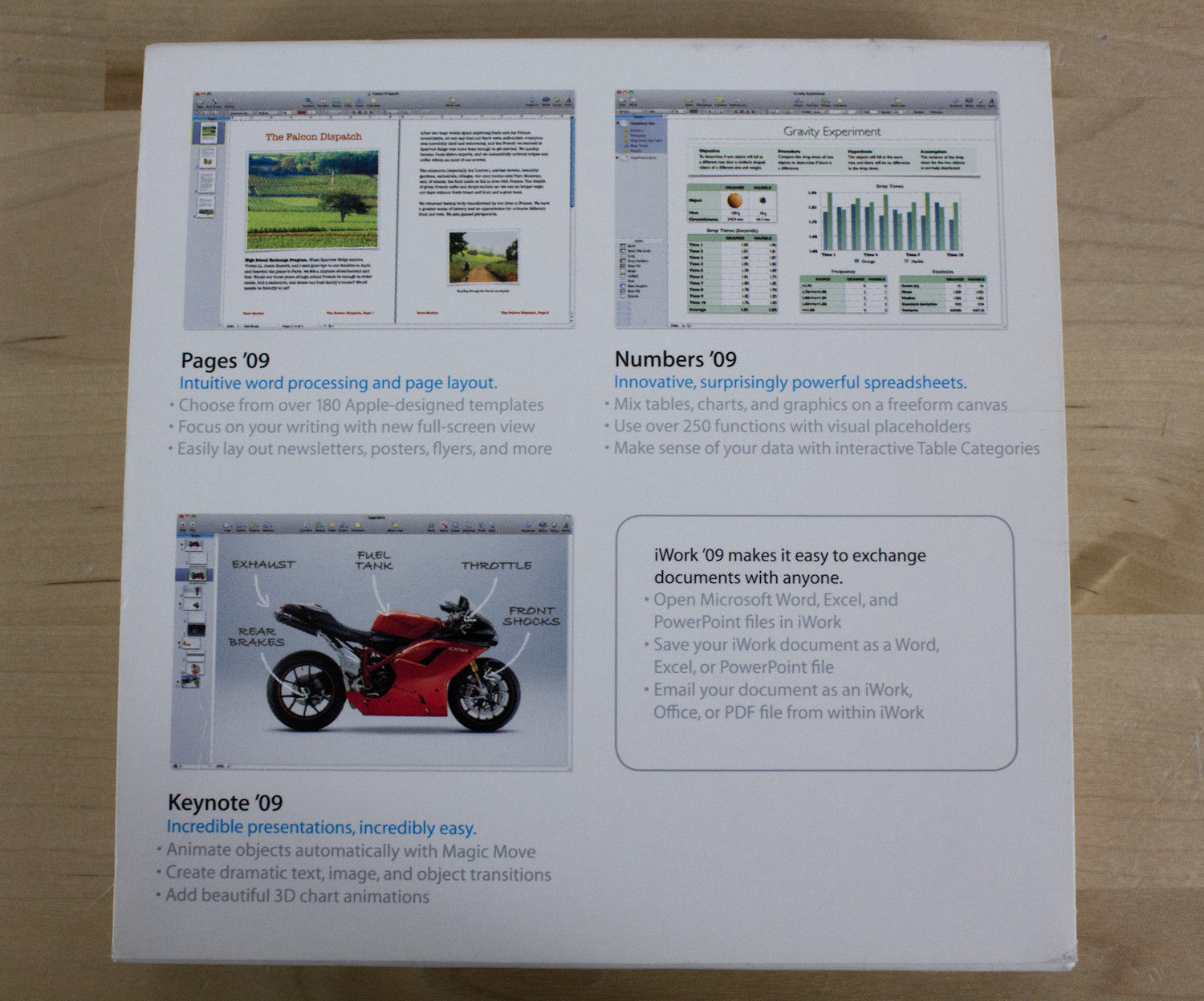 iWork '09 Family Pack for Apple Mac MB943Z/A and 50 similar