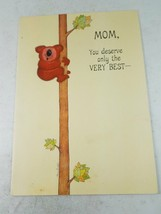 Hallmark Mom You Deserve Only The Very Best Card - $9.69