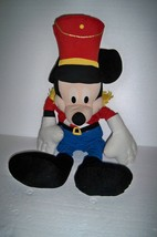"Disney 32"" Large Plush Mickey Mouse in parade Outfit - $20.31"