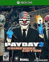 Payday 2: Crimewave Edition (Microsoft Xbox One, 2015 New) - $29.88