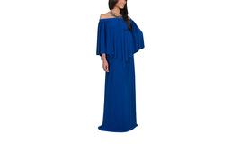 Women's Strapless Shoulderless Flattering Cocktail Gown Maxi Dress - $39.99
