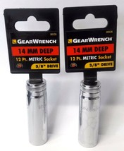"Gearwrench 80528 3/8"" Drive 12 point Deep Socket 14mm 2 Pieces - $3.22"