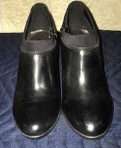 NWB! Anne Klein Dalayne Women Round Toe Leather Black Bootie Size 6M - $59.99