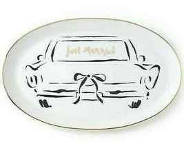 """Kate Spade Bridal Party 'Just Married' Oblong Tray Dish 10.5"""" New - $34.90"""