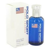 Polo Sport Cologne By Ralph Lauren 2.5 oz Eau De Toilette Spray For Men - $49.29