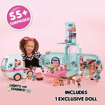 Lol Surprise Glamper Van El First Vehicle For Your Dolls And Pets Lol New - $453.92