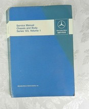 Mercedes-Benz Service Manual Chassis & Body Series 123 Volume 1 1987 - $93.05