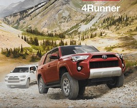 2014 Toyota 4RUNNER brochure catalog 1st Edition US 4 Runner SR5 Trail L... - $8.00