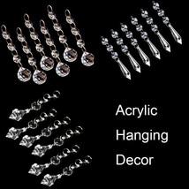 Acrylic Garland Strands Crystal Bead Chandelier Wedding Supplies Hanging... - $10.75+