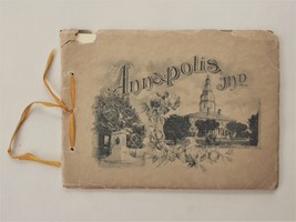 1909 antique NAVAL ACADEMY PHOTO BOOK annapolis md military SOUTHGATE ME... - $48.50