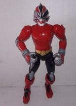 "Power Rangers Samurai Battlized Red Ranger 10"" Action Figure Bandai 2010... - $5.69"