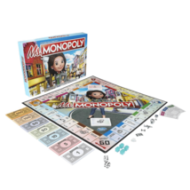 Ms. Monopoly Board Game Hasbro E8424 Family Game NEW!! FREE SHIPPING - $24.74
