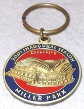 Miller Park Milwaukee Wisconsin Opening Night April 6 2001 Key Rig Fob Limited - $19.95