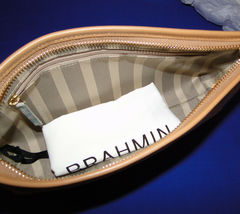 Brahmin Carrie Creme Talitha Leather Crossbody image 7