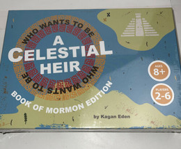 Who Wants to Be a Celestial Heir LDS Board Game Book Of Mormon Edition. ... - $29.69