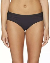 Coco Reef Women's Shirred Side Bikini Bottom Black Size XL Nwt - $14.25