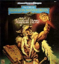 TSR AD&D 2nd Ed Deck of Magical Items Box VG Sealed - $118.79