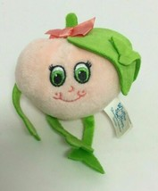 Whiffer Sniffers Pink Peach Scented Cute Small Plush With Keychain Clip - $7.55