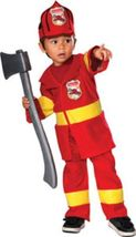 Boys Junior Firefighter Halloween Costume 1-2 Years - $19.00
