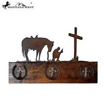 Montana West Wood Cowboy Prayer Coat Rack Hange... - $48.37