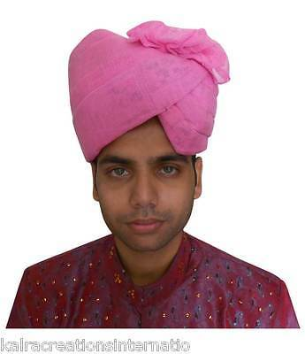 Traditional Punjabi Turban Handmade Men Hat Wedding Pagri Pag Safa 23.6""