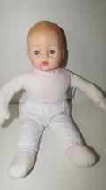 Madame Alexander soft plush body squeaker baby doll sleep eyes 2006  mol... - $11.87