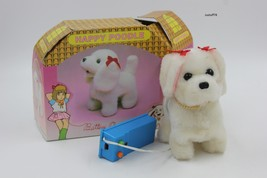 "Vintage Battery Operated ""Happy Poodle"" Dog Toy w/ Remote Control  - $25.00"