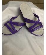 Women's Purple Crocs Size 7 - $30.00