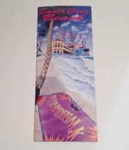 Santa Cruz Beach Boardwalk Brochure 1993 Travel Booklet California CA - $17.10