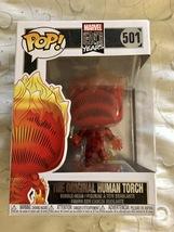 Funko Pop! Marvel 80 Years The Original Human Torch #501 Bobble Head - $12.95