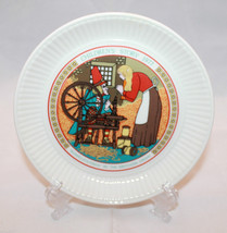 Wedgwood Children's Story 1977 Rumpelstiltskin Plate by The Brothers Grim - $28.78