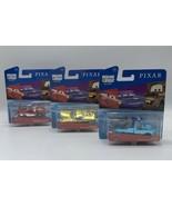 Pixar Fest Disney Cars Lot of 3 Mater Ramone Lightning McQueen Set Free Shipping - $29.69