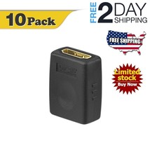 (10 PACK) HDMI Female to Female Adapter Gold Plated High Speed 3D4K Reso... - $25.33