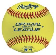 Rawlings Optic Yellow Practice Baseballs, 12 Count, ROLB1 - $45.38