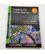 Engaging the Online Learner Jossey Bass Guides to Online Teaching and Le... - $9.99