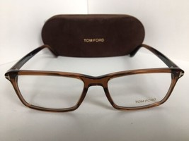 New Tom Ford TF 0854  960 56mm Brown Rectangular Eyeglasses Frame  - $199.99