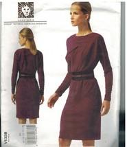 1338 non Découpé Vogue Couture Motif Femmes Robe Coupe Large Corsage Ann... - $8.97