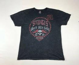 Harley Davidson Sturgis Mens XL T-shirt Black Hills Rally 76th Anniversa... - $18.23