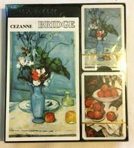 Piatnik Bridge Card Set Artist Cezanne 2 Decks Cards Score Pad Nos Unused - $14.95