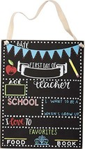 Primitives by Kathy - First Day of School Chalkboard Sign (8 x 10.5) - $12.81